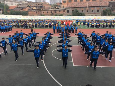 市职业中专学校第十九届校运会圆满落幕